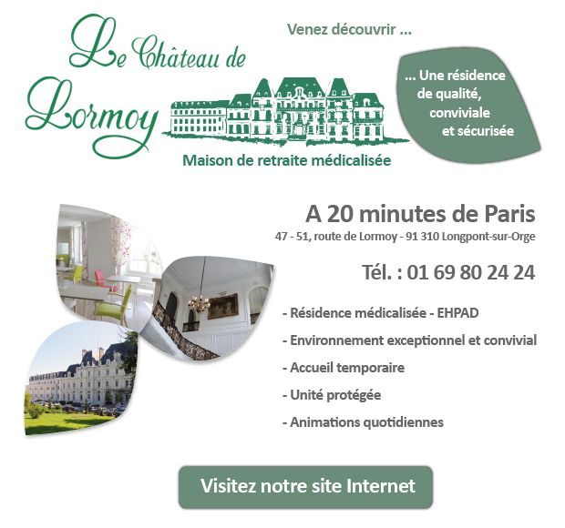 Le chateau de Lormoy